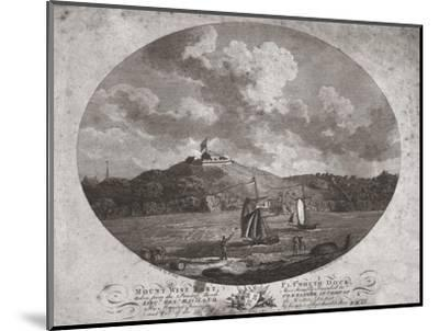 'Mount Wise Fort, Plymouth Dock.', 1780-Benjamin Thomas Pouncy-Mounted Giclee Print
