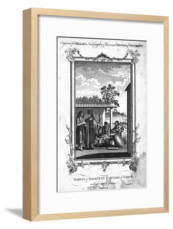 'Habits of Dagestan Tartars of Tarcu, on the borders of Persia', 1780-NC Goodnight-Framed Giclee Print