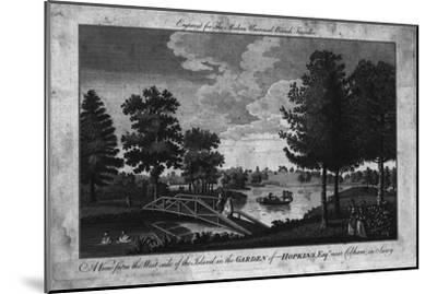 'A View of the Island in the Garden of Hopkins, Esqr. near Cobham in Surry.', c1760-Unknown-Mounted Giclee Print
