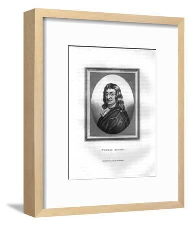 'Thomas Blood', (1817)-Unknown-Framed Giclee Print
