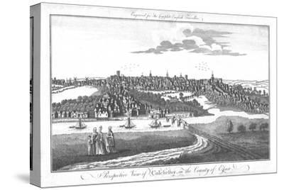 'A Perspective View of Colchester, in the County of Essex.', c1742-Unknown-Stretched Canvas Print
