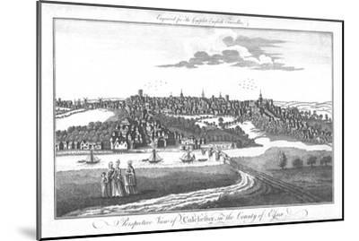 'A Perspective View of Colchester, in the County of Essex.', c1742-Unknown-Mounted Giclee Print