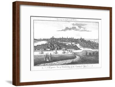 'A Perspective View of Colchester, in the County of Essex.', c1742-Unknown-Framed Giclee Print