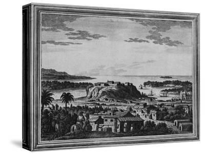 'A View of the Haven of Acapulco', c1768-Unknown-Stretched Canvas Print
