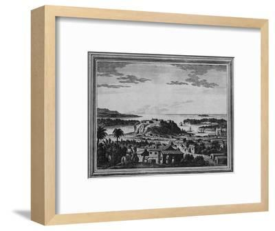 'A View of the Haven of Acapulco', c1768-Unknown-Framed Giclee Print