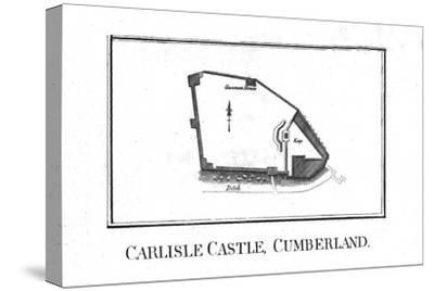 Plan of Carlisle Castle, Cumberland, late 18th century-Unknown-Stretched Canvas Print