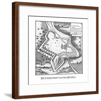 'Dunnington Castle, Berks.', late 18th century-Unknown-Framed Giclee Print