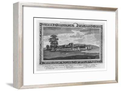 'An Ancient view of St.James's, Westminster Abbey & Hall', late 18th century-Unknown-Framed Giclee Print