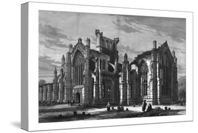 Melrose Abbey-Unknown-Stretched Canvas Print