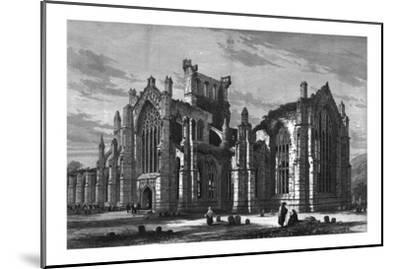 Melrose Abbey-Unknown-Mounted Giclee Print