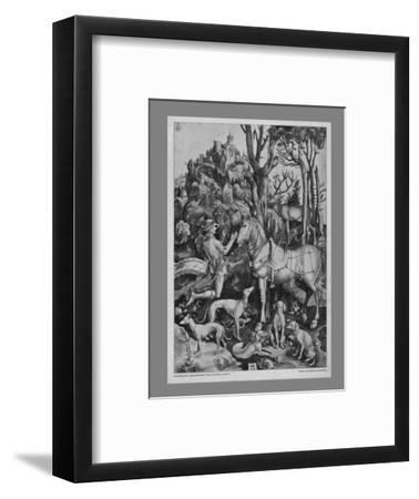 St Eustace, c1501, (19th century)-Unknown-Framed Giclee Print