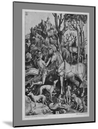 St Eustace, c1501, (19th century)-Unknown-Mounted Giclee Print