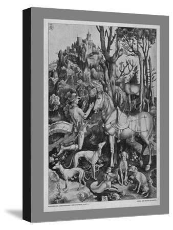 St Eustace, c1501, (19th century)-Unknown-Stretched Canvas Print