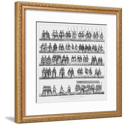 The Christening of Prince Arthur, 24 September 1486, (1782)-Unknown-Framed Giclee Print