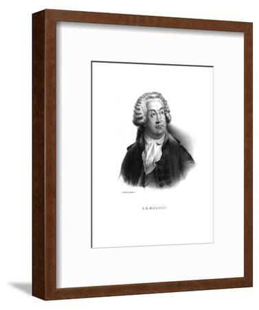 Honore-Gabriel de Riquetti, comte de Mirabeau, (c1820s)-Unknown-Framed Giclee Print