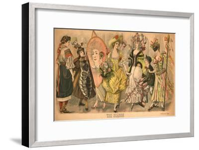 'The Season', 1895-Unknown-Framed Giclee Print