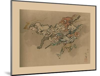 The Goblin Flight, late 18th-early 19th century, (1886)-Unknown-Mounted Giclee Print
