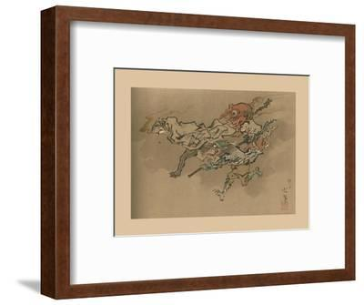 The Goblin Flight, late 18th-early 19th century, (1886)-Unknown-Framed Giclee Print