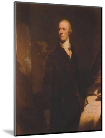 William Pitt, c1800s, (1941)-Unknown-Mounted Giclee Print