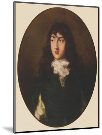 George Canning as a boy, c1788, (1941)-Unknown-Mounted Giclee Print