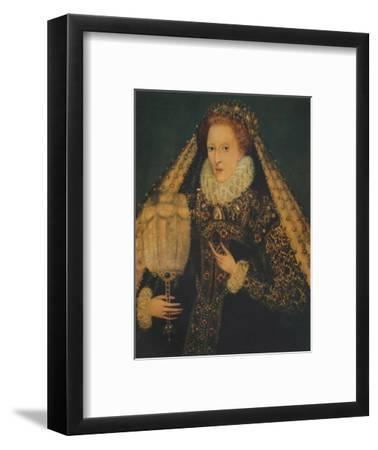 Queen Elizabeth I, c1580. (1941)-Unknown-Framed Giclee Print
