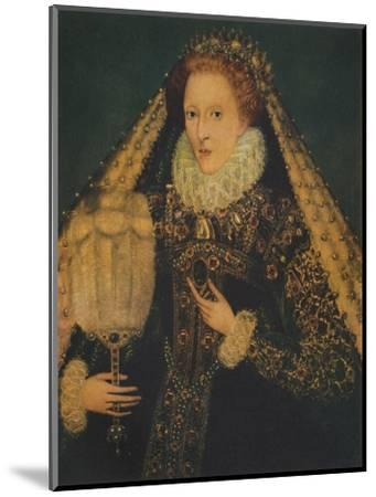 Queen Elizabeth I, c1580. (1941)-Unknown-Mounted Giclee Print