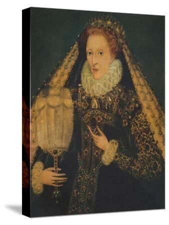 Queen Elizabeth I, c1580. (1941)-Unknown-Stretched Canvas Print