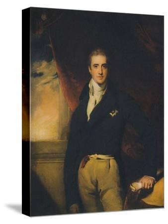 Viscount Castlereagh, early 1800s, (1941)-Unknown-Stretched Canvas Print