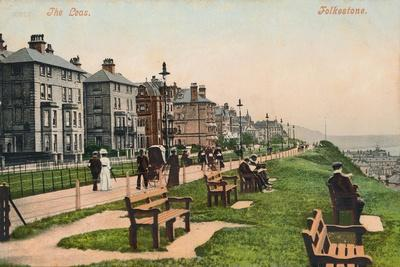 'The Leas. Folkestone', late 19th-early 20th century-Unknown-Framed Giclee Print