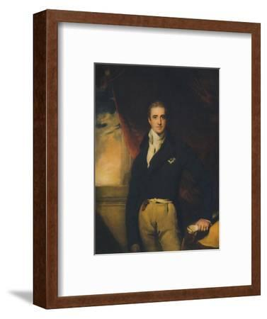 Viscount Castlereagh, early 1800s, (1941)-Unknown-Framed Giclee Print