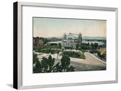 'Pleasure Gardens Theatre, Folkestone', late 19th-early 20th century-Unknown-Framed Giclee Print