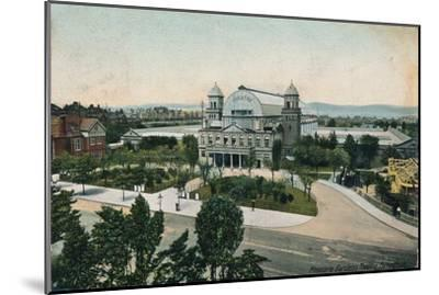 'Pleasure Gardens Theatre, Folkestone', late 19th-early 20th century-Unknown-Mounted Giclee Print