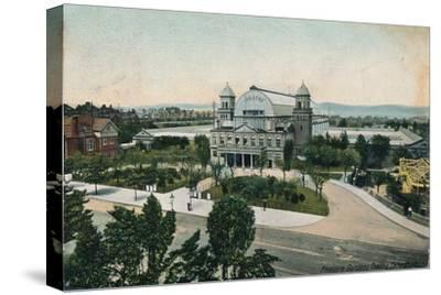 'Pleasure Gardens Theatre, Folkestone', late 19th-early 20th century-Unknown-Stretched Canvas Print
