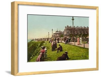 'Folkestone. The Lees', late 19th-early 20th century-Unknown-Framed Giclee Print