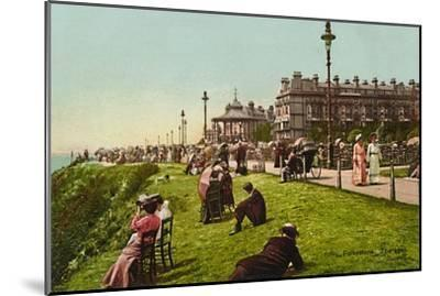 'Folkestone. The Lees', late 19th-early 20th century-Unknown-Mounted Giclee Print