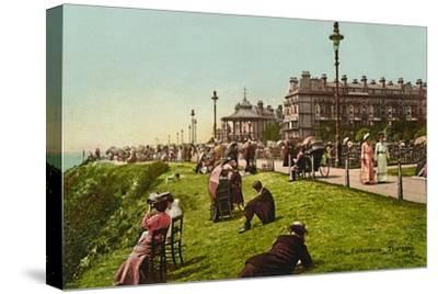 'Folkestone. The Lees', late 19th-early 20th century-Unknown-Stretched Canvas Print