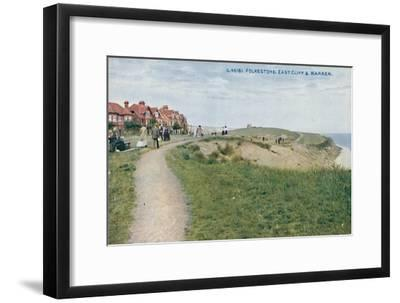 'Folkestone: East Cliff & Warren', late 19th-early 20th century-Unknown-Framed Giclee Print