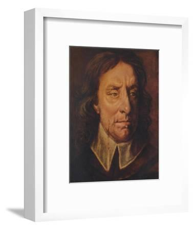 Oliver Cromwell, c1657, (1941)-Unknown-Framed Giclee Print