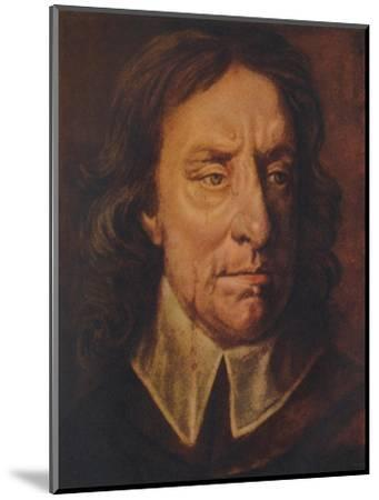 Oliver Cromwell, c1657, (1941)-Unknown-Mounted Giclee Print