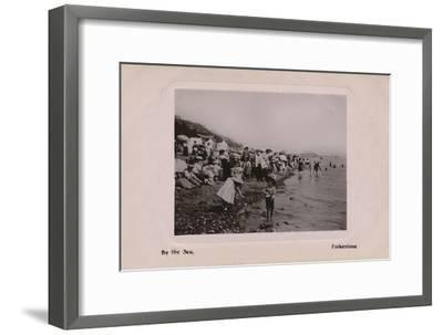 'By the Sea, Folkestone', late 19th-early 20th century-Unknown-Framed Giclee Print