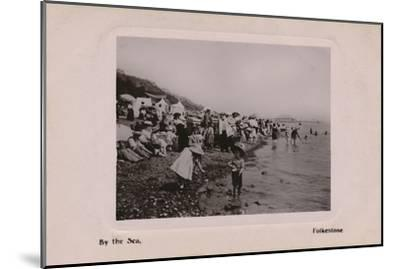 'By the Sea, Folkestone', late 19th-early 20th century-Unknown-Mounted Giclee Print