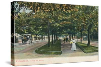 'Folkestone. Castle Hill Avenue', late 19th-early 20th century-Unknown-Stretched Canvas Print
