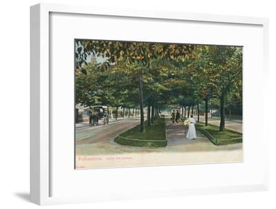 'Folkestone. Castle Hill Avenue', late 19th-early 20th century-Unknown-Framed Giclee Print