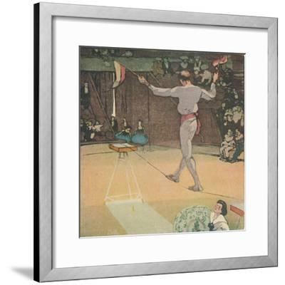 'The Tight-Rope Dancer', 1919-Mabel Alington Royds-Framed Giclee Print
