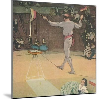'The Tight-Rope Dancer', 1919-Mabel Alington Royds-Mounted Giclee Print
