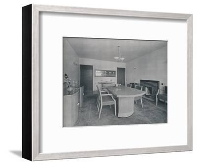 'House at Burn Bridge by The Late John Procter, F.R.I.B.A', 1942-Unknown-Framed Photographic Print