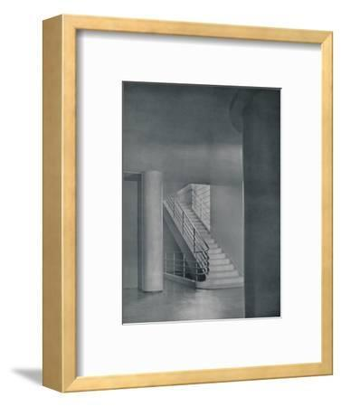 'The Entrance Hall and Staircase', 1942-Unknown-Framed Photographic Print