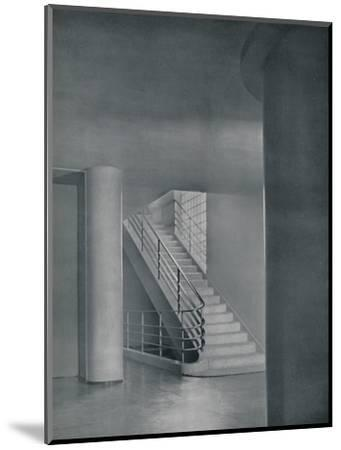 'The Entrance Hall and Staircase', 1942-Unknown-Mounted Photographic Print