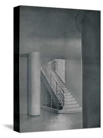 'The Entrance Hall and Staircase', 1942-Unknown-Stretched Canvas Print