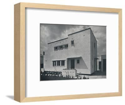 'House at Hoghton, Lancs., by Frank Waddington', 1942-Unknown-Framed Photographic Print